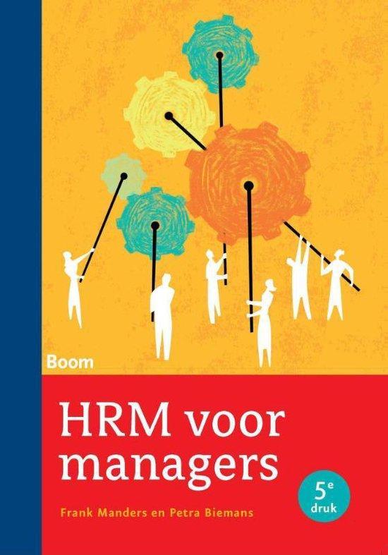 Afbeelding van HRM voor managers