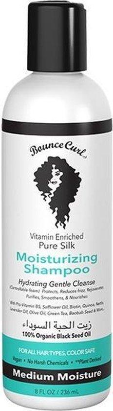 Bounce Curl Pure Silk Moisturizing Shampoo - 236ml