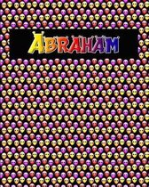 120 Page Handwriting Practice Book with Colorful Alien Cover Abraham
