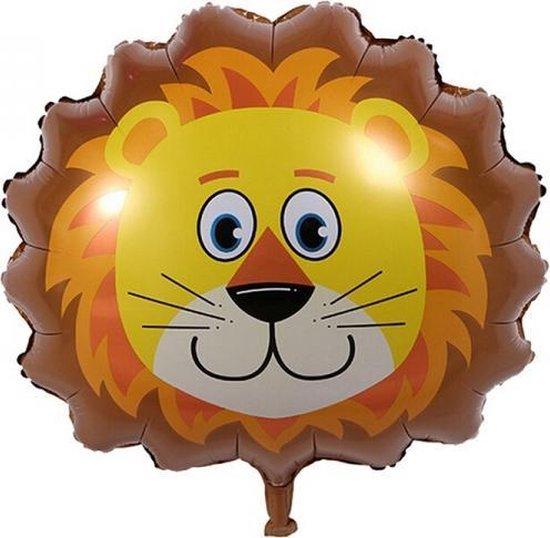 Folie helium ballon Leeuw 76cm