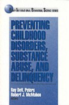 Omslag Preventing Childhood Disorders, Substance Abuse, and Delinquency