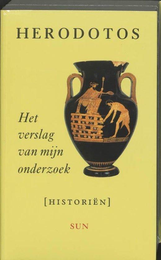 Het verslag van mijn onderzoek - Herodotos  