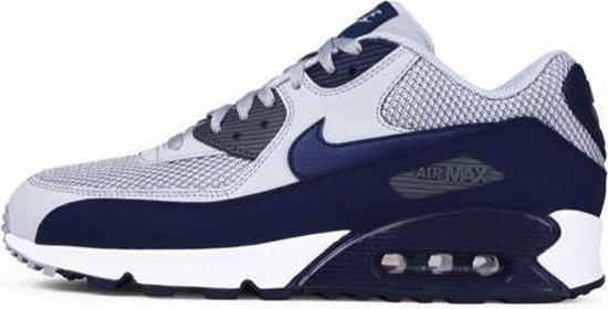 Nike Air Max 90 Essential Sneakers Heren - grijs/blauw - Maat 40.5