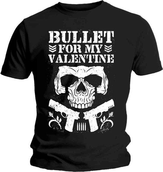 Bullet For My Valentine - Bullet Club heren unisex T-shirt zwart - XL