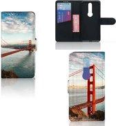 Nokia 4.2 Flip Cover Golden Gate Bridge