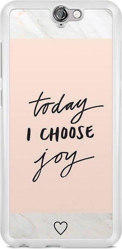 HTC One A9 hoesje - Choose joy