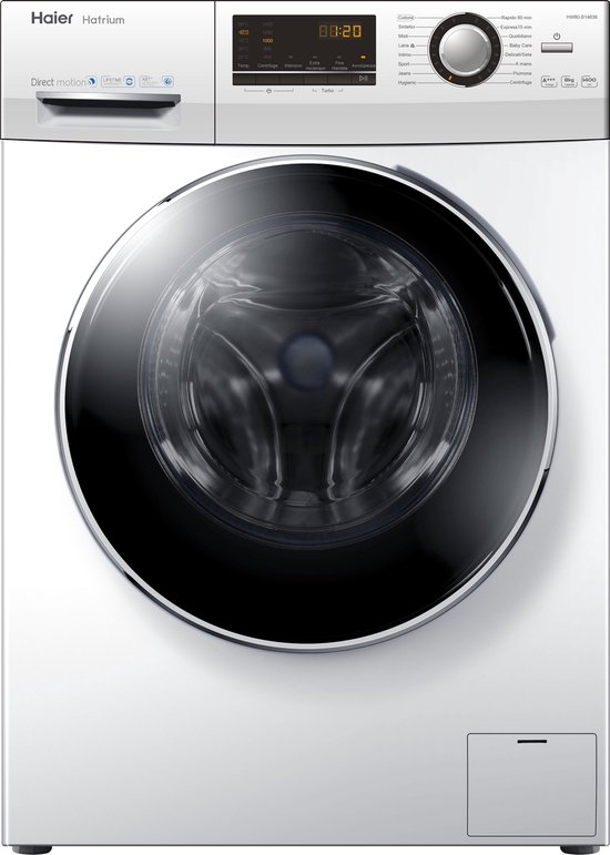 Haier HW80-B14636 - Wasmachine