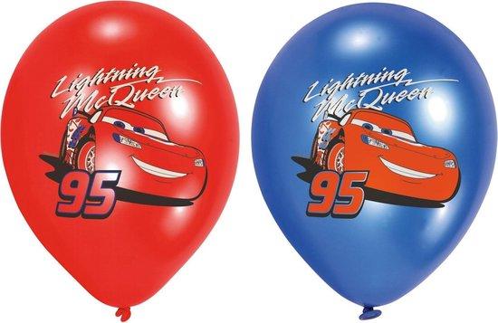 Cars Ballonnen Versiering 28cm 6st