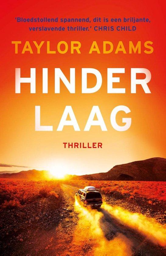 Boek cover Hinderlaag van Taylor Adams (Paperback)