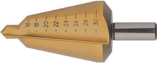 Plaatfrezen HSS TiN 16-30,5mm FORMAT