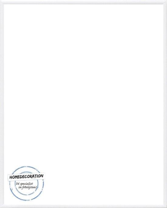 Homedecoration Kampen– Fotolijst – Fotomaat – 49x59 cm– Aluminium – Wit