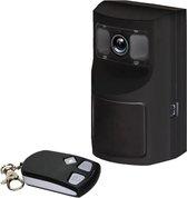 Bewegingsmelder alarm met camera en simkaart module op batterij