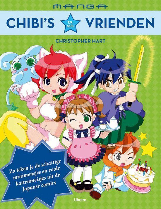 Manga chibi's en hun vrienden - Christopher Hart  