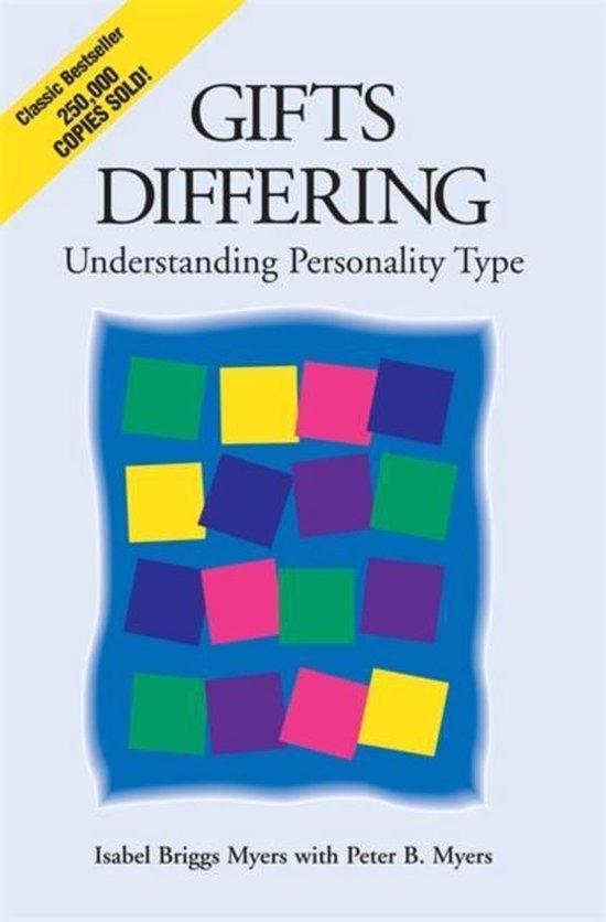 Boek cover Gifts Differing van Isabel Briggs Myers (Paperback)