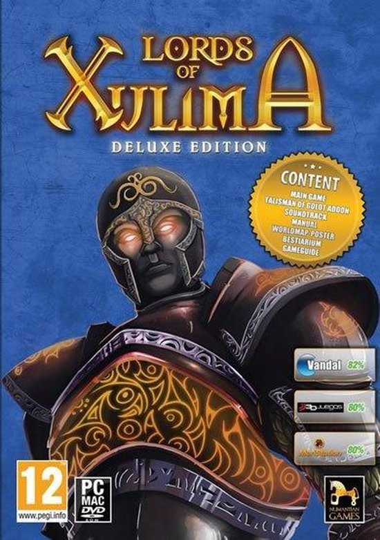 Lords of Xulima – Deluxe Edition Windows CDROM