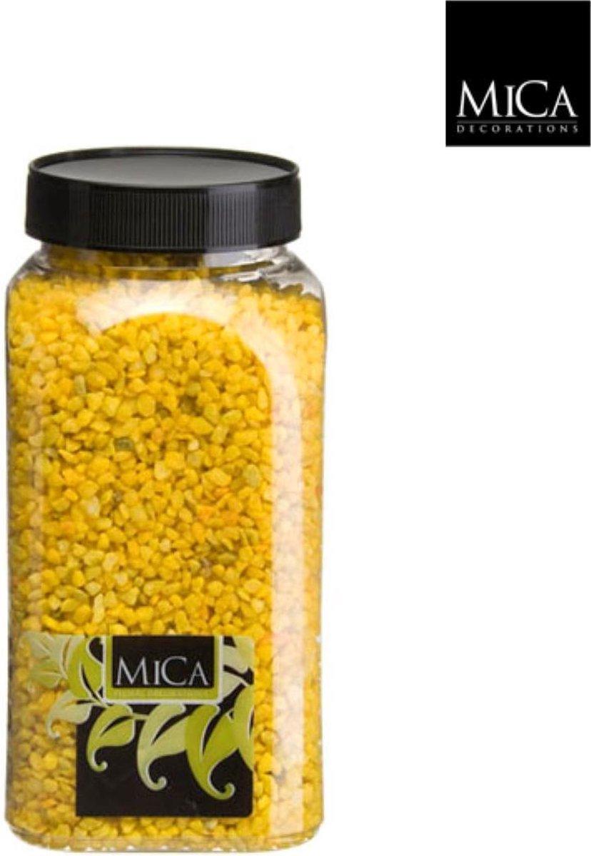 3 stuks Gravel geel fles 1 kilogram