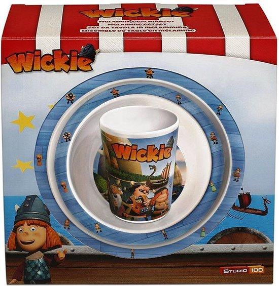 Wickie de Viking ontbijtset 3-delig.