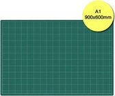 Rillstab snijmat a1 900x600mm groen