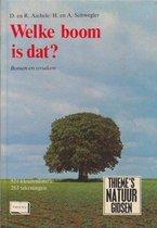 Welke boom is dat