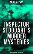 Omslag Inspector Stoddart's Murder Mysteries (4 Intriguing Golden Age Thrillers)
