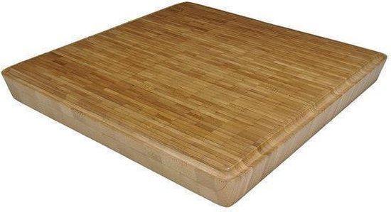 Point-Virgule Taoo Square Bamboo - Hakblok - 30x30x3,5 cm