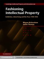 Omslag Fashioning Intellectual Property