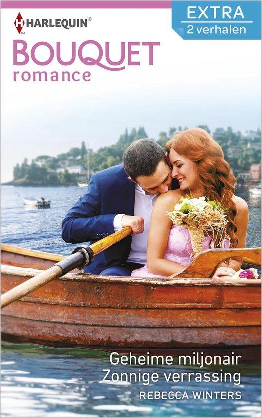 Bouquet Extra 386 - Geheime miljonair ; Zonnige verrassing - Rebecca Winters |
