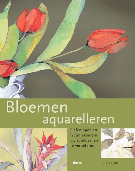 Cover van het boek 'Bloemen aquarelleren'