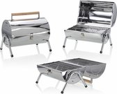 BBQ Collection Houtskoolbarbecue - Cilinder - Chroom