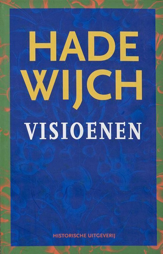 Boek cover Hadewijch verzameld werk 2 -   Visioenen van Hadewijch (Hardcover)