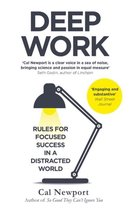 Boek cover Deep Work : Rules for Focused Success in a Distracted World van Cal Newport (Paperback)