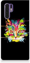 Huawei P30 Pro Uniek Standcase Hoesje Cat Color