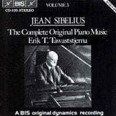 Sibelius - (3) Orig. Piano Iii