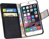 Lelycase Apple iPhone 6 Plus Bookcase Flip Cover Wallet Hoesje Zwart