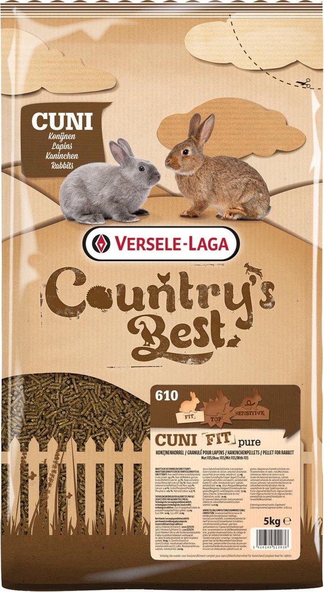 Cuni fit pure konijnenkorrel 5 kg - Supreme