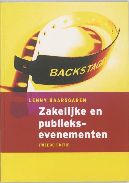 Zakelijke En Publieksevenementen + Cd-Rom - Lenny Kaarsgaren |