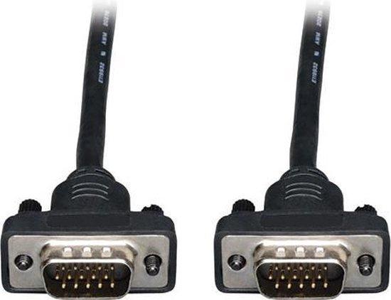 Tripp Lite 25ft, VGA - VGA VGA kabel 7,62 m VGA (D-Sub) Zwart
