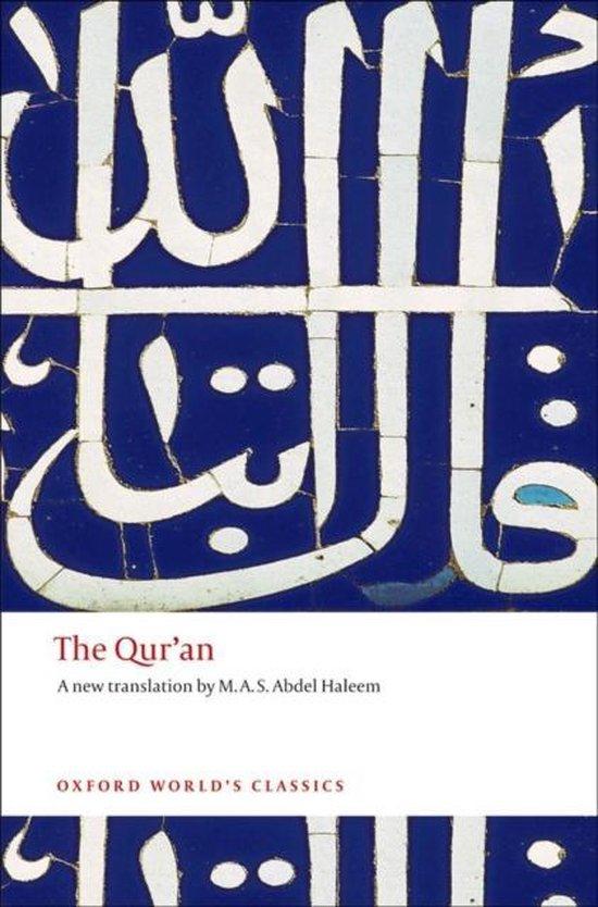 Boek cover The Quran van Haleem, M. A. S. Abdel (Paperback)