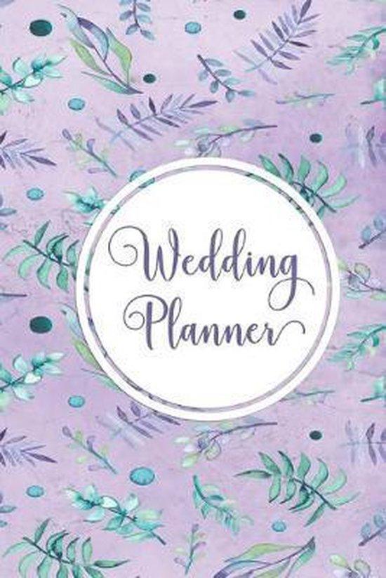 Wedding Planner: Punktiertes Notizbuch f�r die Braut oder den JGA - 6 x 9 Zoll, ca. A5 -120 Seiten - Dot-Grid - Braut-Motiv - Notizbuch