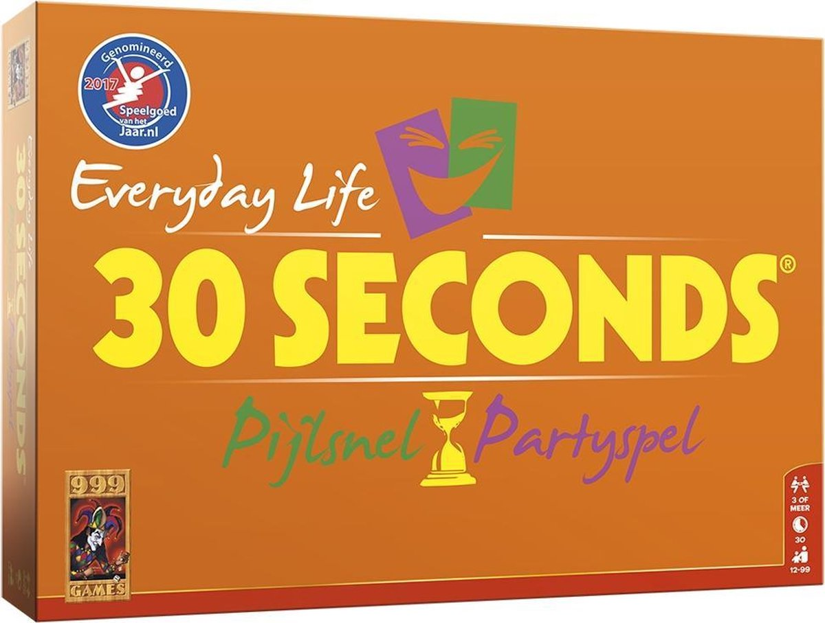30 Seconds Everyday Life - Bordspel - 999 Games