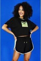 Merkloos / Sans marque Dames T-shirt Maat S