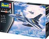 Revell Modelbouwset F-16 Mlu 207 Mm Schaal 1:72