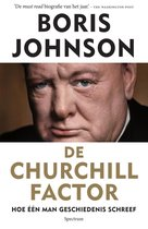 Boek cover De churchill factor van Boris Johnson