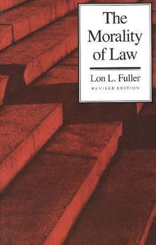 Boek cover The Morality of Law van Lon L. Fuller (Paperback)