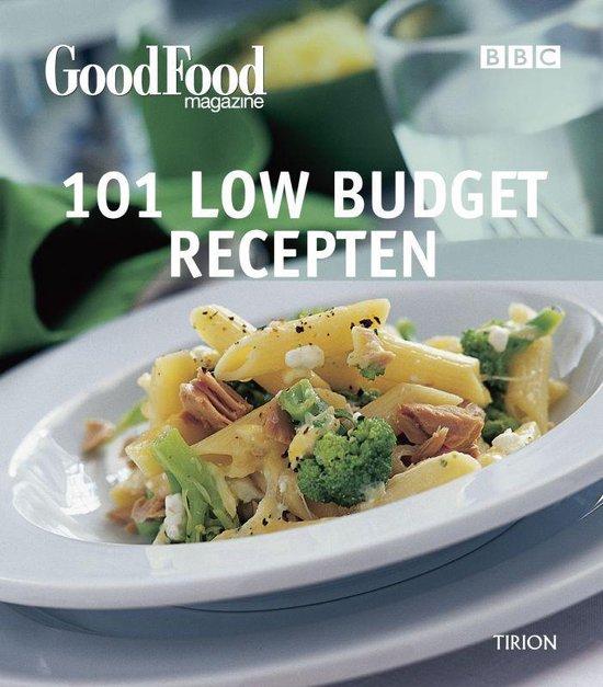 Cover van het boek '101 Low budget recepten'