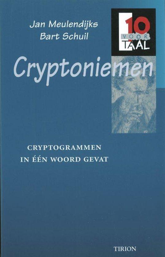 Cover van het boek '10 voor Taal Cryptoniemen' van Bart Schuil en Jan Meulendijks