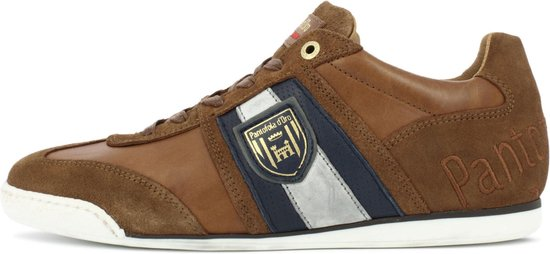 Pantofola d'Oro Imola Scudo Uomo Lage Bruine Heren Sneaker 42