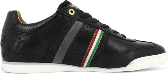 Pantofola d'Oro Imola Romagna Uomo Lage Zwarte Heren Sneaker 42