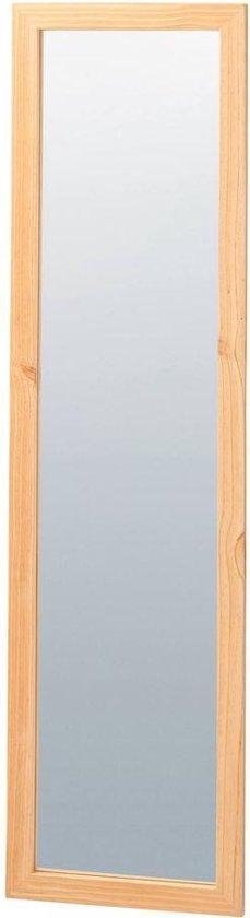 Grote Staande Spiegel - Heldere Lak - Esdoorn