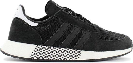 adidas Originals Marathon Tech Boost - Heren Sneakers Sport Casual Schoenen Zwart EE4924 - Maat EU 44 UK 9.5